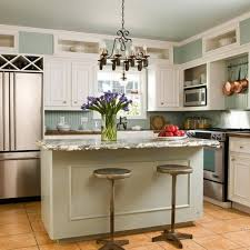 island in small kitchen small kitchen with island design ideas 45 upscale small kitchen