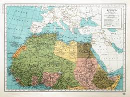 Africa Colonial Map by Africa And The British Empire Maps