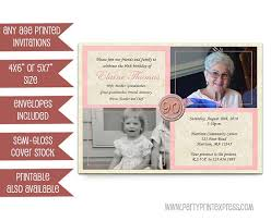 pink woman birthday invitations 90th 80th 70th 60th 50th then