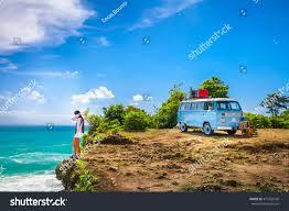 volkswagen bus beach bali indonesia jimbaran beach may 1 stock photo 477702106