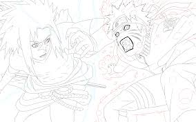 hd wallpapers coloring pages of naruto vs sasuke fut earecom press