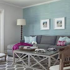 aqua blue and charcoal gray living room design paint colors