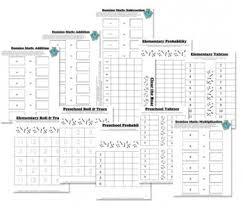 free math worksheets dice u0026 domino math games free homeschool