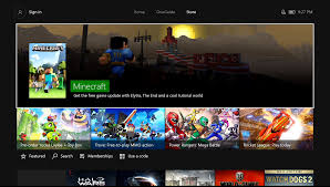 how to find an app on the xbox one store my private network