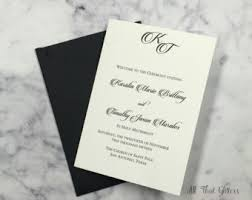 wedding program catholic catholic wedding programs etsy