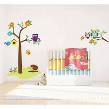 eulen kinderzimmer wandtatoo kinderzimmer walldesign56 wandtattoos fototapete