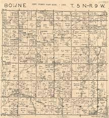 Plat Maps Plat Maps In Bowne Twp Kent Co Michigan