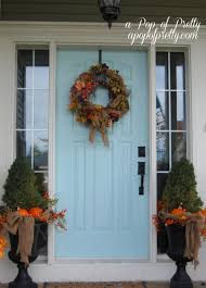 attractive ideas for small patios front door fall decorating idolza