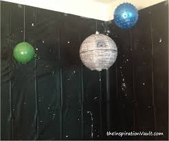 wars decorations wars themed diy party decorations the inspiration vault