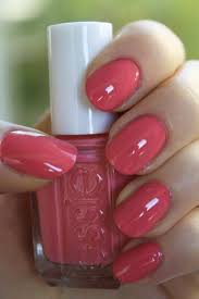 gentle autumn nail polish autumn nails soft autumn and coral
