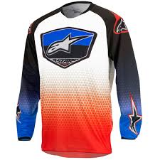 alpinestars motocross jersey alpinestars racer supermatic youth motocross mx dirt bike race