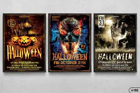 halloween flyer background free halloween flyer design templates for photoshop v1