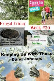 The Frugal Homemaker by Frugal Friday Week 31 Aspired Living