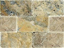 msi tuscany scabas 3 u0027 u0027 x 6 u0027 u0027 travertine subway tile in tumble
