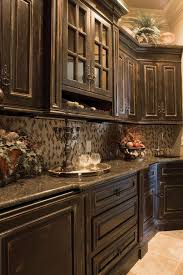 Rustic Kitchen Cabinets Distressed Cabinet Best Kitchen Childcarepartnerships Org