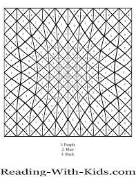 printable paint by numbers adults free coloring pages color number