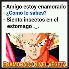 Memes De Vegeta - enamorado nivel vegeta xd meme subido por kirazero15 memedroid