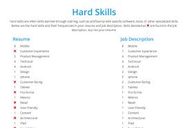 Job Skills For Resume by How Are Resumes Screened Or Shortlisted At Large Companies Like