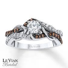 levian chocolate diamonds 3 4 ct tw engagement ring 14k gold - Chocolate Wedding Rings