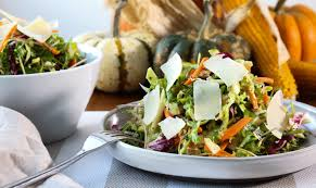 fall recipe to get in season thanksgiving kale salad recipe