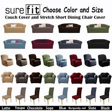 Stretch Slipcovers For Sofa by Furniture Enchanting Sofa And Loveseat Plus Parson Chairs With