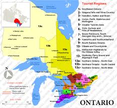canadian map cities ontario bed and breakfasts b bs canada