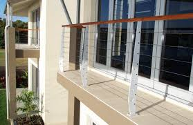 Wire Banister Stainless And Wire Balustrade A Grade Aluminium