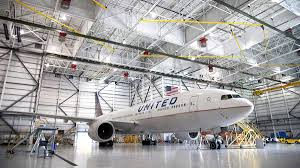 Suite Home Hangar Design Group Dulles International Airport United Widebody Hangar