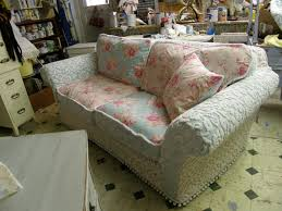Chic Armchair Decor Lovely Shabby Chic Slipcovers For Enchanting Furniture