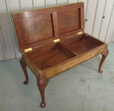 edwardian burr walnut duet piano stool antiques atlas