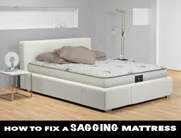 Fix Bed Frame How To Fix A Sagging Mattress The Right Ways Simple Cheap