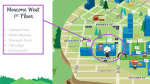 Union Square San Francisco Map by How To Navigate The Dreamforce Campus Salesforce Blog