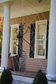 Scary Halloween Decorations For Yard by Halloween Spider Web Decoration Diy Halloween Yard Decorations