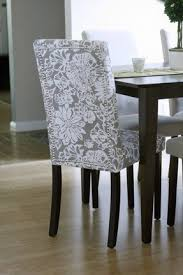 How To Reupholster Dining Chair Upholstered Parsons Dining Chairs Foter