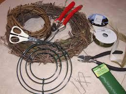 wreath supplies how to make an herb wreath bonnie plants