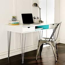 Blue Computer Desk We Furniture 48 Wood Computer Desk Blue Kitchen