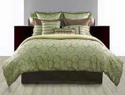 green bed set 9pc luxury bedding set bed in a bag comforter sets modern flickr