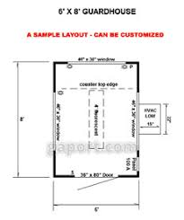 Security Floor Plan Security Guard House Designs Prefab Security Guardhouse And Cabin