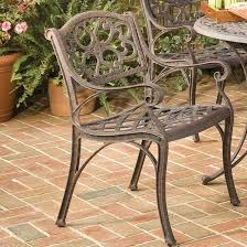 Glider Patio Furniture Astoria Grand Van Glider Patio Dining Chair U0026 Reviews Wayfair