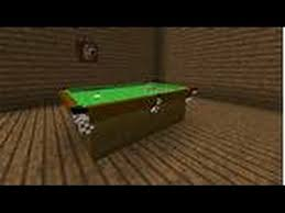 build a pool table how to build a pool table in minecraft youtube