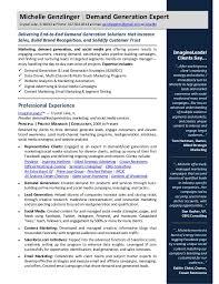 Subject Matter Expert Resume Samples by Demand Generation 2015 Resume