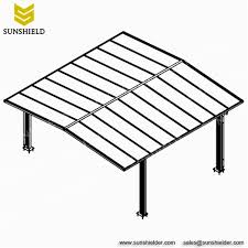 a frame roof gable carport carports with polycabonate roof pergola sunshield
