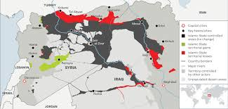 united states of islam map 2016 mapped the islamic state is losing its territory and fast