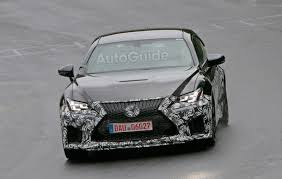 lexus sports car model lexus spied testing hotter rc f model on the nurburgring