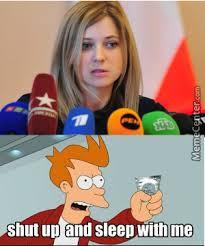 Natalia Poklonskaya Meme - mrw i first saw natalia poklonskaya by imong xs meme center