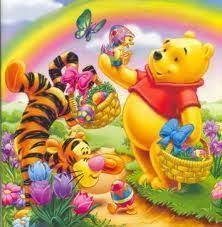 happy east ur winnie pooh eeyore pooh bear