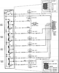 jeep xj door wiring diagram jeep wiring diagrams instruction