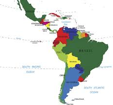 america in world map countries that make up america worldatlas