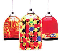 Glass Ceiling Light Fixtures Lite Line Illuminations Los Gatos Hand Blown Lighting Fixtures