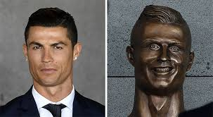 Cristiano Ronaldo Meme - 10 of the funniest reactions to cristiano ronaldo s new statue